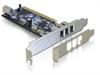 Imagem de Controladora Firewire PCI 3 portas +1 Int