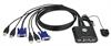 Picture of Aten KVM digital de 2 PCS USB c/cabos+comando