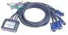 Picture of Aten KVM digital de 4 PCS PS2 c/cabos