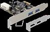 Imagem de Controladora Delock PCI Express Card   2 x USB 3.0