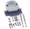 Imagem de Capôt para conector DB25 Preto paraf.longo