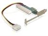 Imagem de Controladora Delock  PCIe x1 / PCI Card 32bit