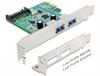 Imagem de Controladora Delock PCI Express Card/ 2 x USB 3.0