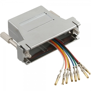 Picture of Adaptador RJ45F/DB25F